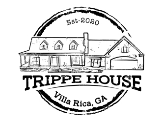 Trippe House logo design