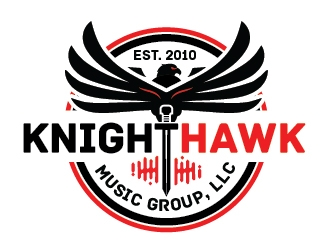 KnightHawk Music Group, LLC logo design