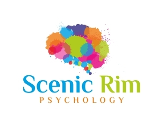 Scenic Rim Psychology logo design