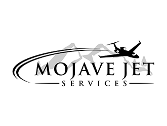 Mojave Jet Services logo design