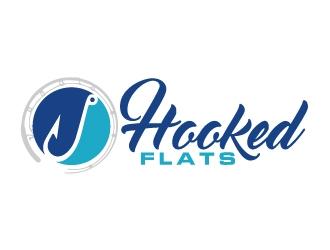 Hooked Flats logo design