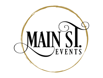 Main St. Events logo design