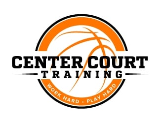 Center Court Training logo design