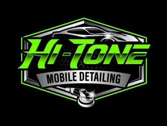 Hi-Tone Mobile Detailing logo design