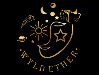 Wyld Ether logo design