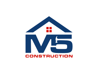M5 Construction  logo design