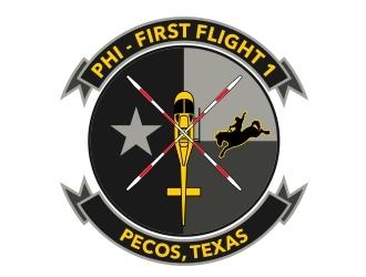 PHI Air Med logo design