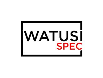 Watusi Spec logo design by wa_2