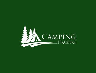 Camping Hackers logo design