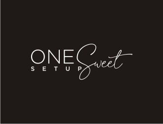 One Sweet Setup  logo design
