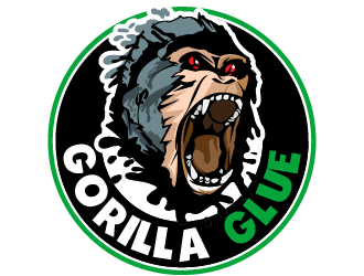 Gorilla Glue #4 logo design