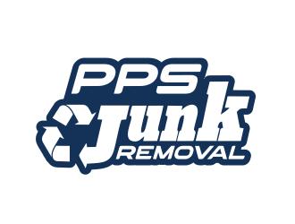 PPS Junk Removal logo design
