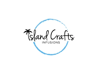 Island Crafts Beer Infusions logo design