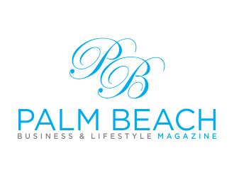 Palm Beach Business & Lifestyle Magazine logo design