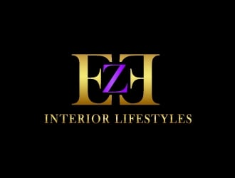 EzE  Interior Lifestyles   or EZE Interior Lifestyles logo design