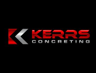 Kerrs concreting  logo design