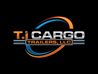 T.I Cargo Trailers logo design