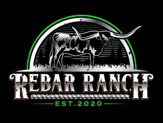 Rebar Ranch logo design