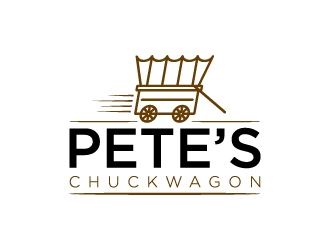 Petes Chuckwagon logo design