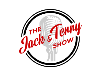 The Jack and Terry Show logo design