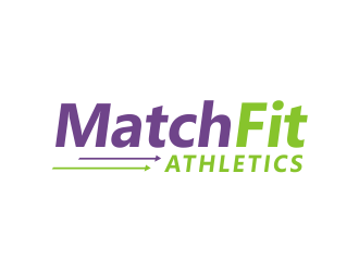 MatchFit Athletics logo design