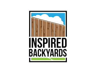Inspired Backyards logo design