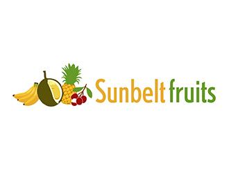 Sunbelt Fruits  logo design