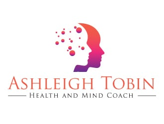 Ashleigh Tobin - Health and Mind Coach logo design