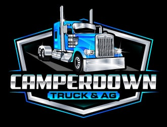 Camperdown Truck & AG logo design