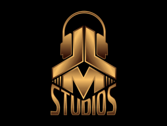 JLM Studios logo design