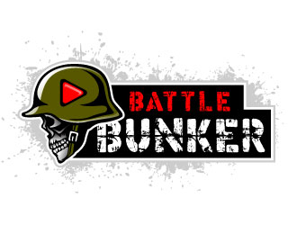 Battle Bunker logo design
