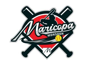 Maricopa Monsoon logo design by rizuki