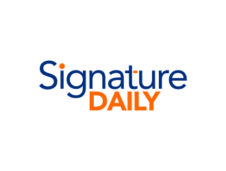 Signature Daily logo design