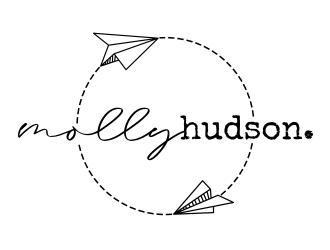mollyhudson. logo design