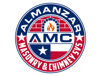 AMC Almanzar Masonry & Chimney Svs  logo design