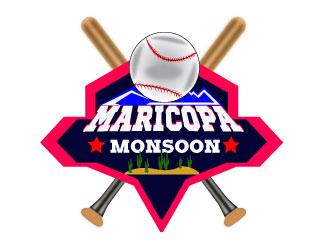 Maricopa Monsoon logo design by Suvendu