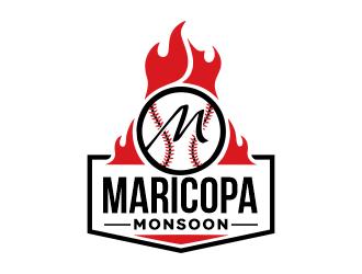 Maricopa Monsoon logo design by Gwerth