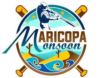 Maricopa Monsoon logo design by design_brush