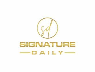 Signature Daily logo design by ayda_art