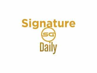 Signature Daily logo design by putriiwe