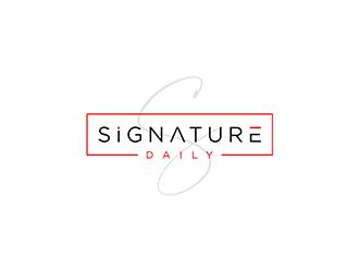 Signature Daily logo design by ndaru