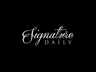 Signature Daily logo design by hopee