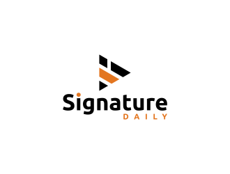 Signature Daily logo design by rian38