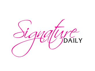 Signature Daily logo design by AamirKhan