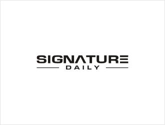 Signature Daily logo design by bunda_shaquilla