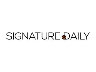 Signature Daily logo design by Bambhole