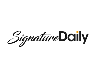 Signature Daily logo design by kunejo