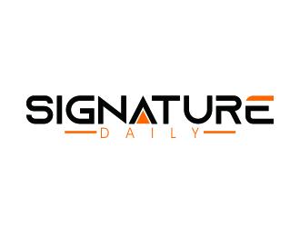 Signature Daily logo design by muxin2500