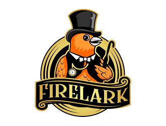 Firelark logo design