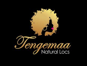 Tengemaa Locs  logo design